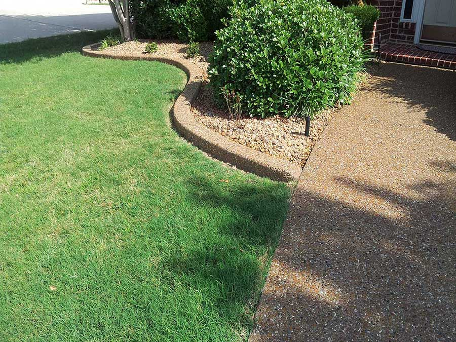 Empire Landscaping Block Exposed Aggregate