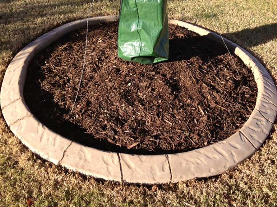 Empire Landscaping Natural Brown Curbing