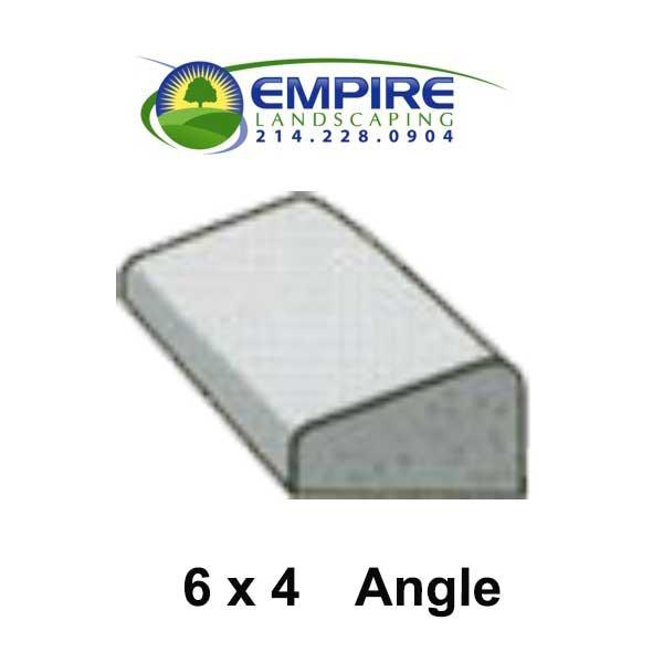 Angled Custom Curbing From Empire Landscaping