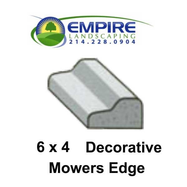 Decorative Mowers Edge Custom Curbing