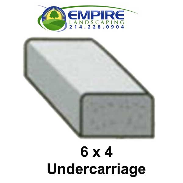 Block Style Undercarriage Custom Curbing