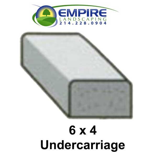 Block Style Undercarriage Custom Curbing