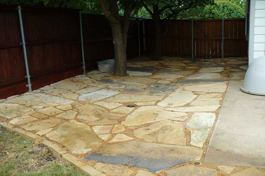 Empire Landscaping Flagstone Patio