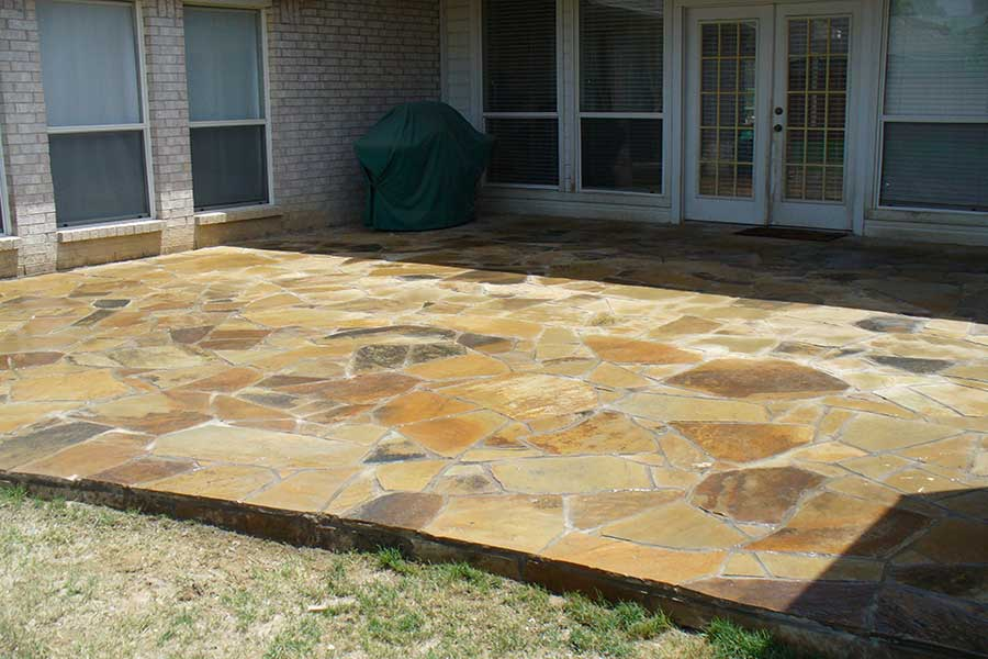 Empire Landscaping Flagstone Patio 2