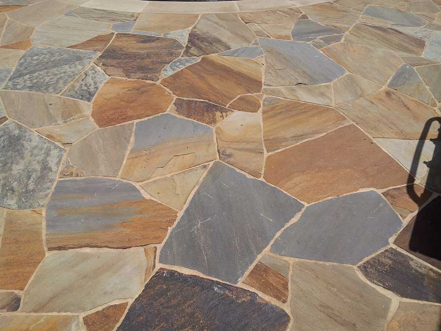 Flagstone Patio From Empire Landscaping