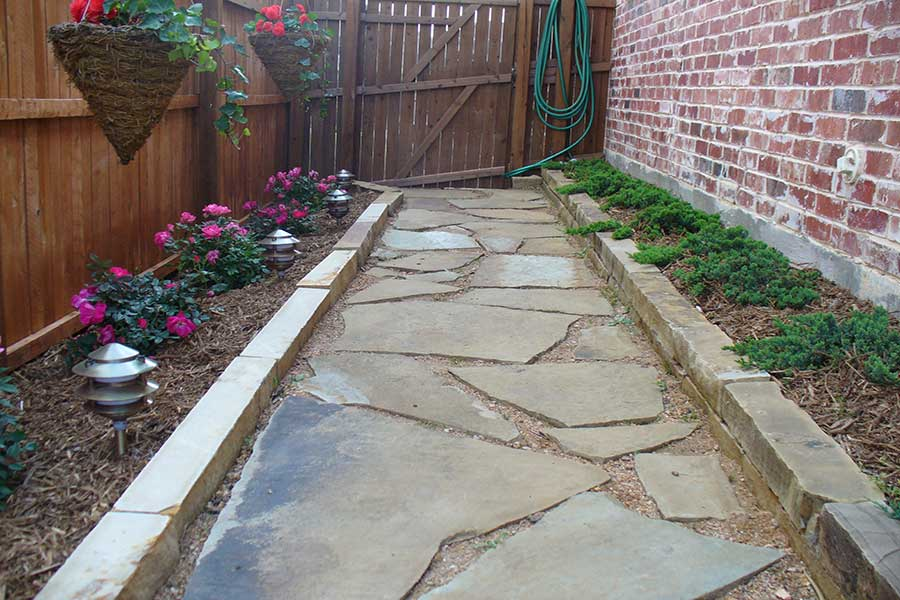 Empire Landscaping Flagstone Walkway 2