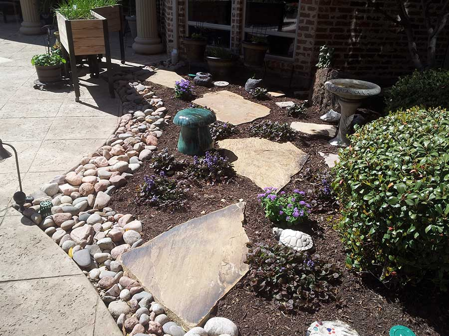 Empire Landscaping Oklahoma Slab