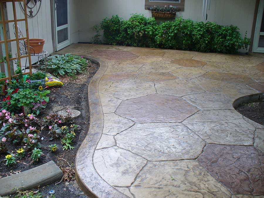 Empire Landscaping Stamped Patio 2