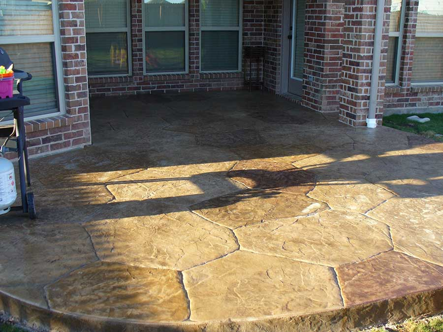 Empire Landscaping Large Arizona Flagstone Patio