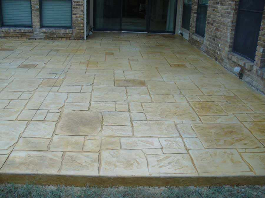 Empire Landscaping Rectangular Style Patio