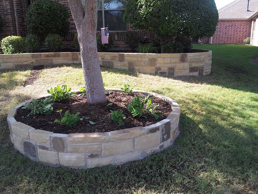Empire Landscaping Set Stone Border