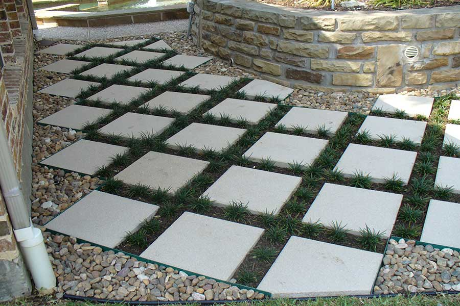 Empire Landscaping Pavestone Walkway
