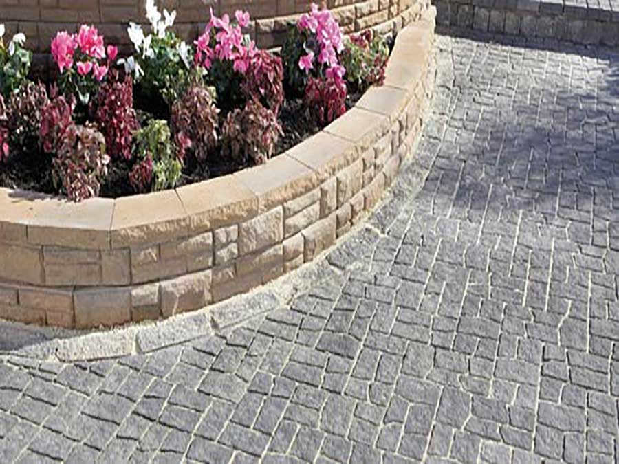Empire Landscaping Ashlar Stone Wall