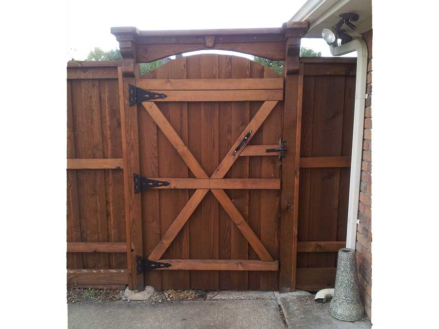 Empire Landscaping Custom Fence Gates