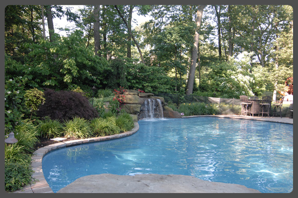 Thoughts on pool landsscaping empire landscaping for Pool landscaping pictures