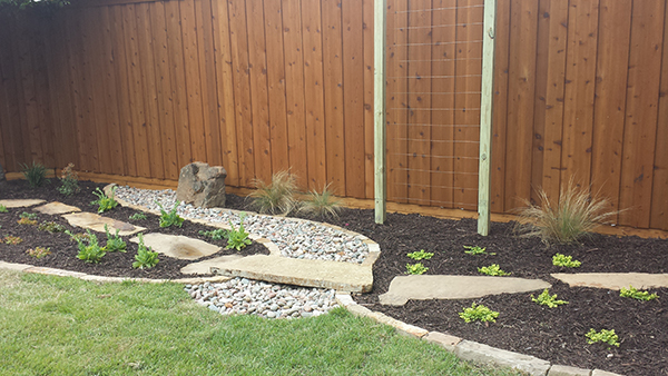 River Rock Landscaping In Plano Texas