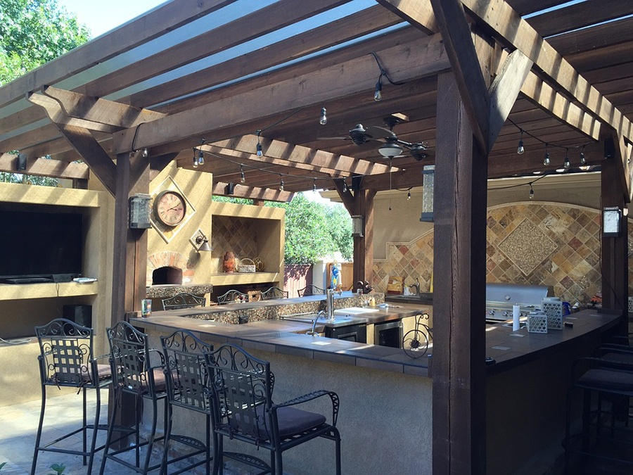 Empire Landscaping Outdoor Living Kitchen