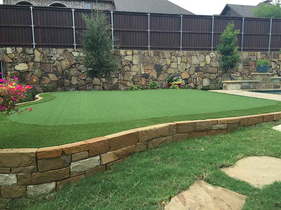 Putting Green Project Empire Landscaping
